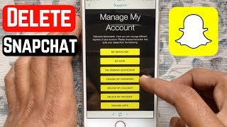 How to Delete Snapchat Account 2019
