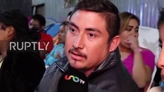 Mexico: Tijuana migrants react to Trump's border wall speech