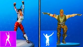 *NEW* LEAKED True Heart, Eagle, Infinite Dab EMOTES GAMEPLAY! Fortnite Battle Royale New Emotes Leak