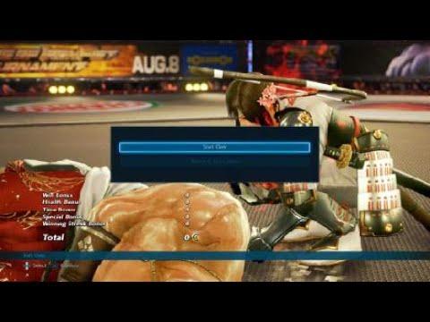 Tekken 7 PS4 Treasure Battle With Geese on Ultra Hard part52