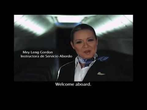 Copa Airlines B737-700 Safety video