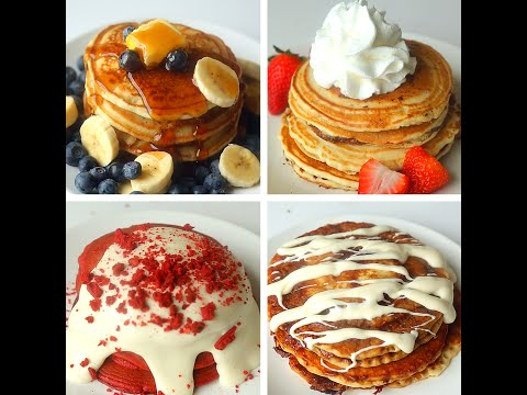 Download Youtube: Pancakes 4 Ways