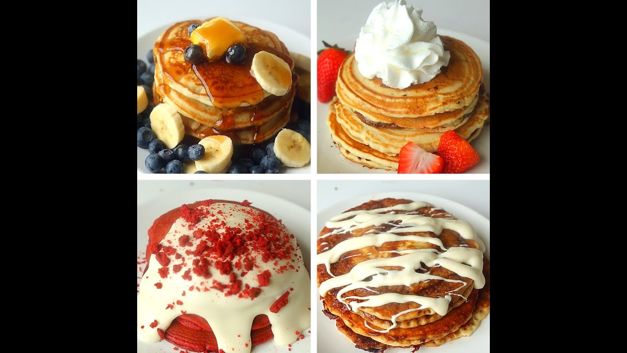 Tell me a recipe for tasty pancakes on milk and dry yeast