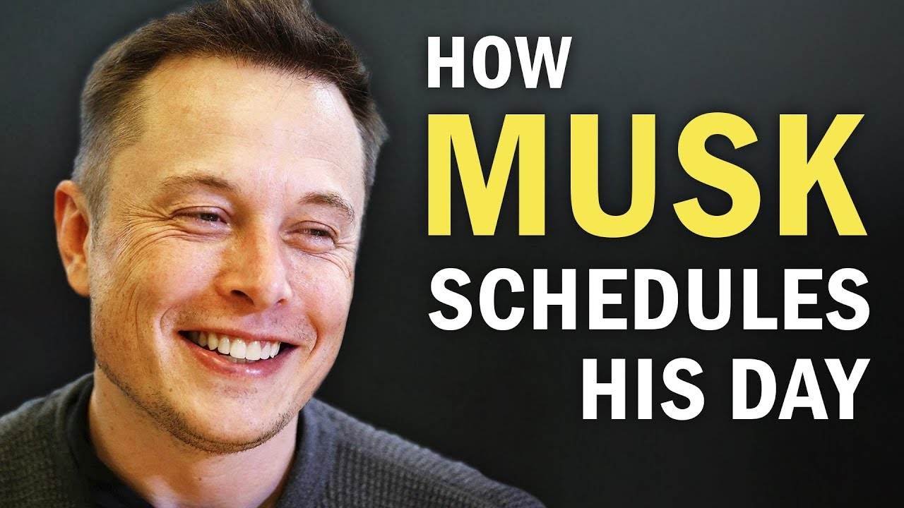 Elon Musk's Time Management Method