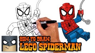 How to Draw Lego Spiderman | Drawing Tutorial