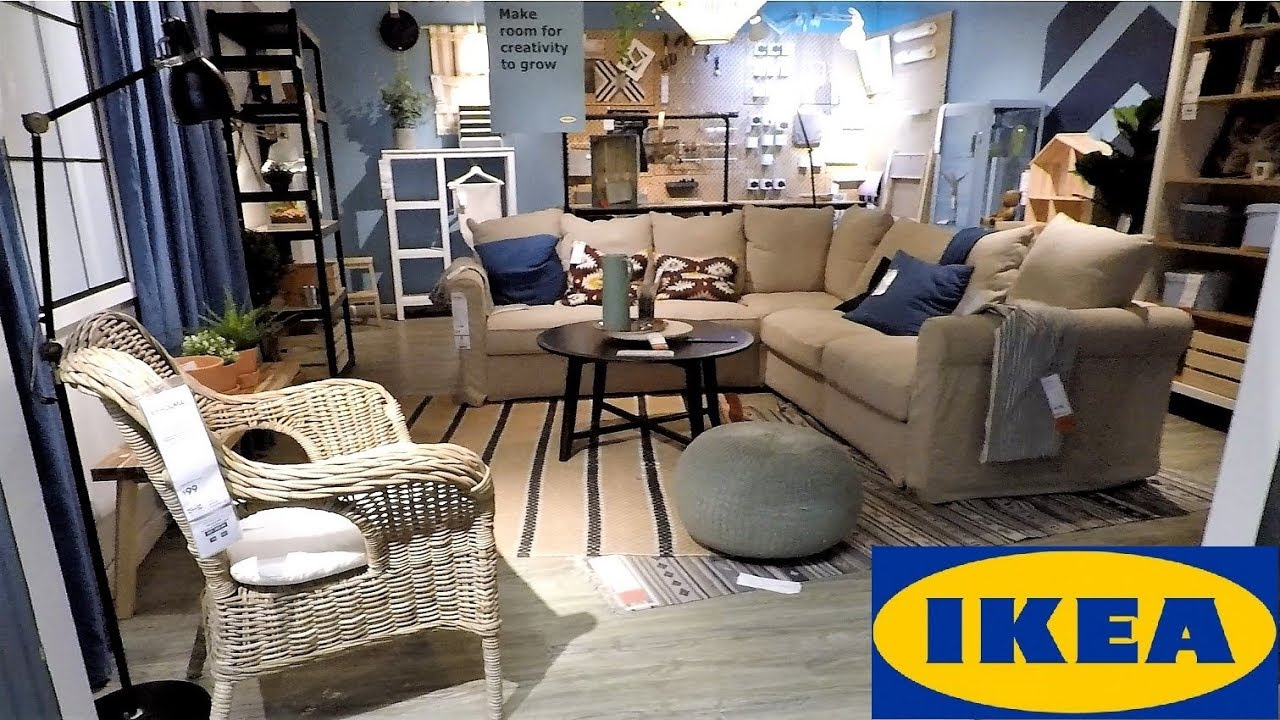 Ikea Living Room >> Ikea Showroom Entrance Living Room Furniture Home Decor Shop With Me