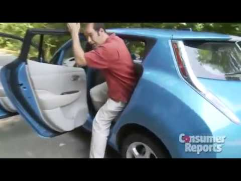 Nissan Leaf Review From Consumer Reports