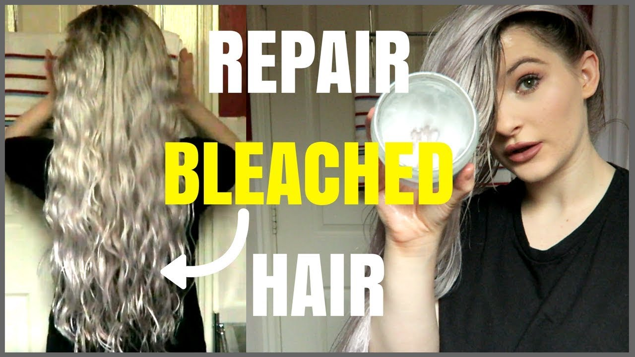 How To Use Coconut Oil For Hair Growth Repair Bleached Damaged