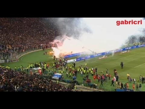 Risse Calcio - Football Fights Supporters, Players In Stadium -