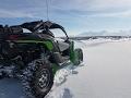 Can-Am Maverick X3 Sand Dune Snow Ride DJI Drone Footage