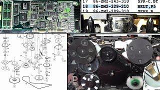 Распаковки (№56) и ремонт Aiwa PX407 [Запись]