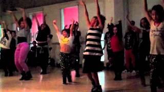 JoAnn Dancing to Girl Gone Wild