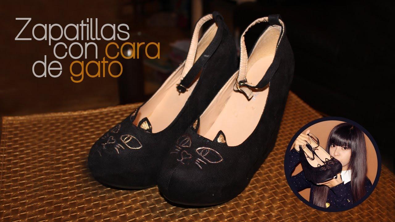 13d4dc3b63f DIY: Cat Face Shoes | Akari Beauty