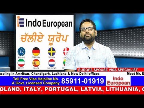 Indo European Spouse Visa Specialist by Deepinder Bawa(European Visa Expert)
