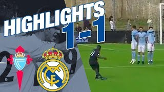 HIGHLIGHTS | Celta Vigo B 1-1 Real Madrid Castilla