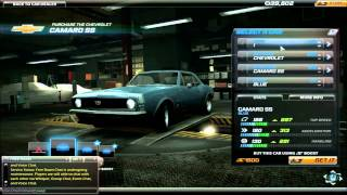 Need For Speed World Online gameplay