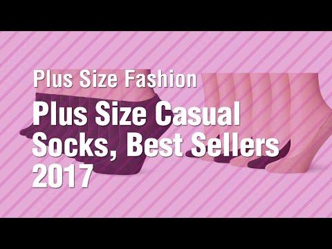 Plus Size Casual Socks, Best Sellers 2017 // Plus Size Fashion