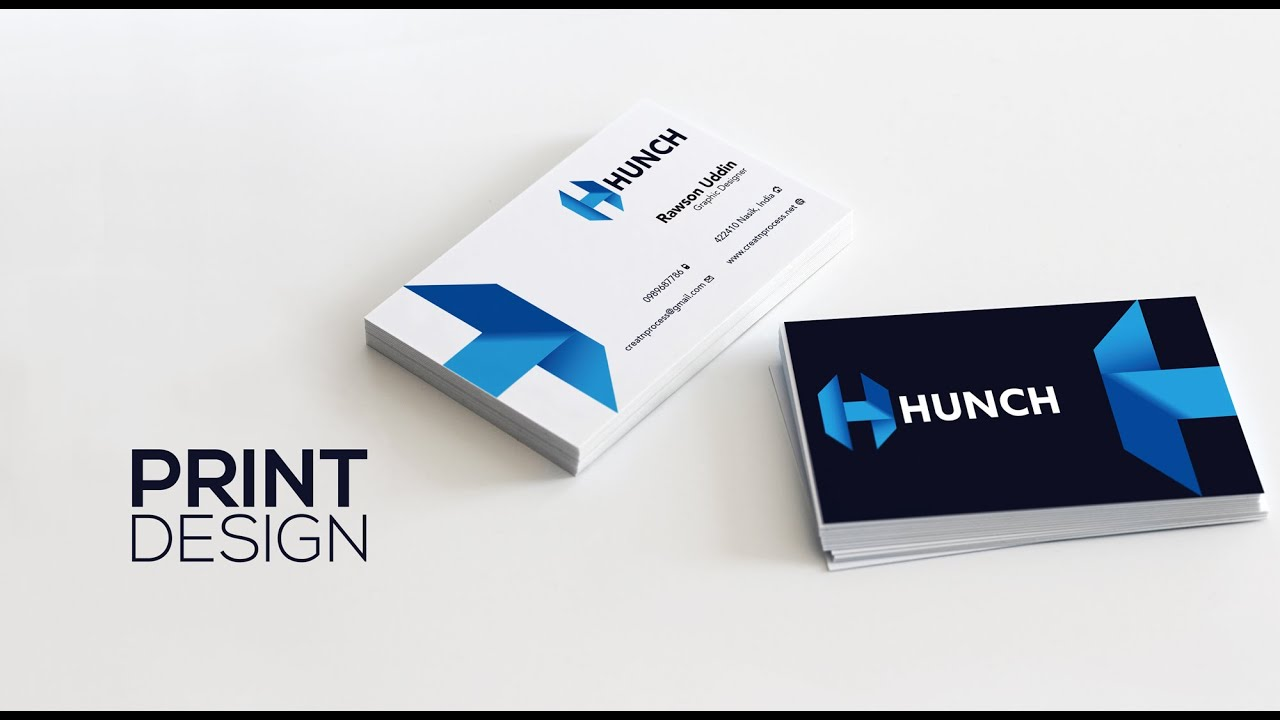 Print design print ready business card adobe illustrator youtube colourmoves