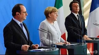 FBNC - Đức, Pháp, Ý yêu cầu Anh nhanh chóng rời khỏi EU