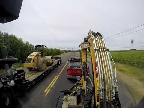Taking The Caterpillar 305E2 To NC Machinery