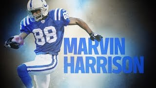 Marvin Harrison Career Feature | The Making of a Pro Football Hall of Famer? | NFL