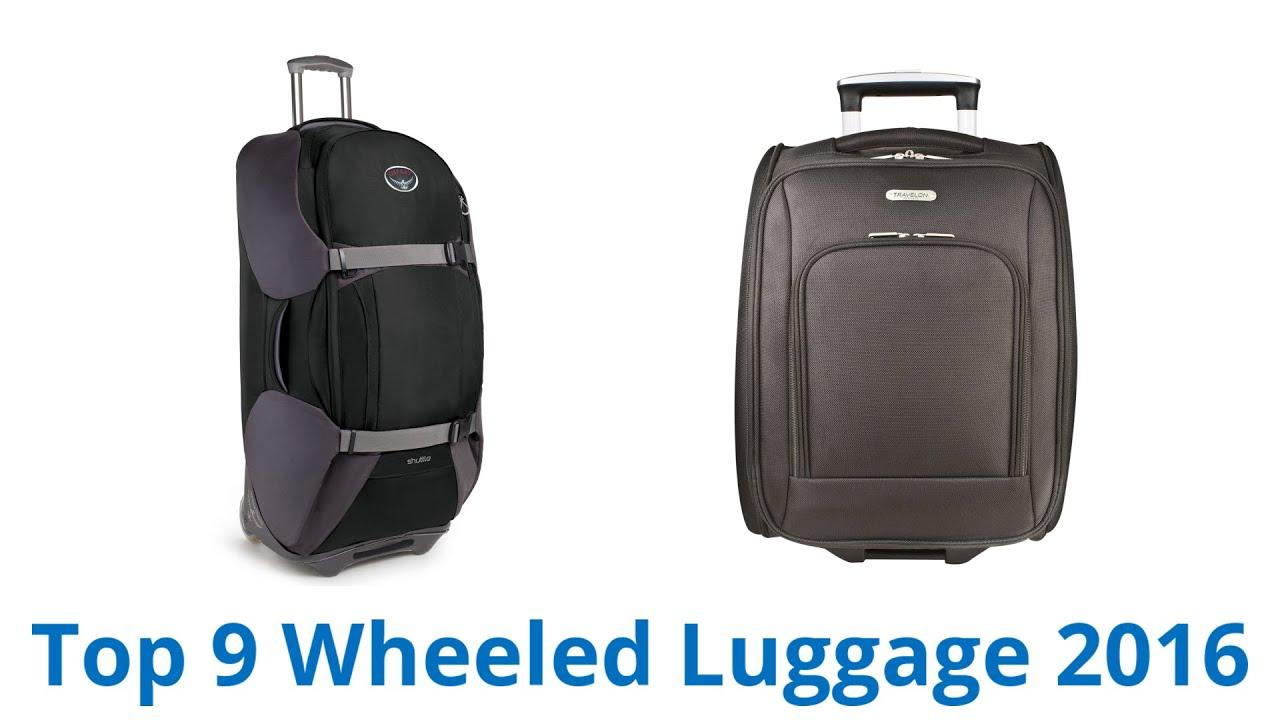 9 Best Wheeled Luggage 2016