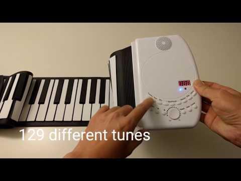 88 Keys USB Soft Flexible Electronic Piano Keyboard for Children (Toy)