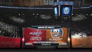 NHL 17 (washington capitals - new york islanders)