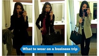 Business Trip OOTDs, Vlog and Hotel Room Tour(, 2014-03-30T06:46:24.000Z)