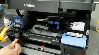 Como inicializar una impresora Canon G3100