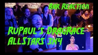 "RuPaul's Drag Race All Stars 3x4 ""Snatch Game"" Burlington BAR REACTION!"