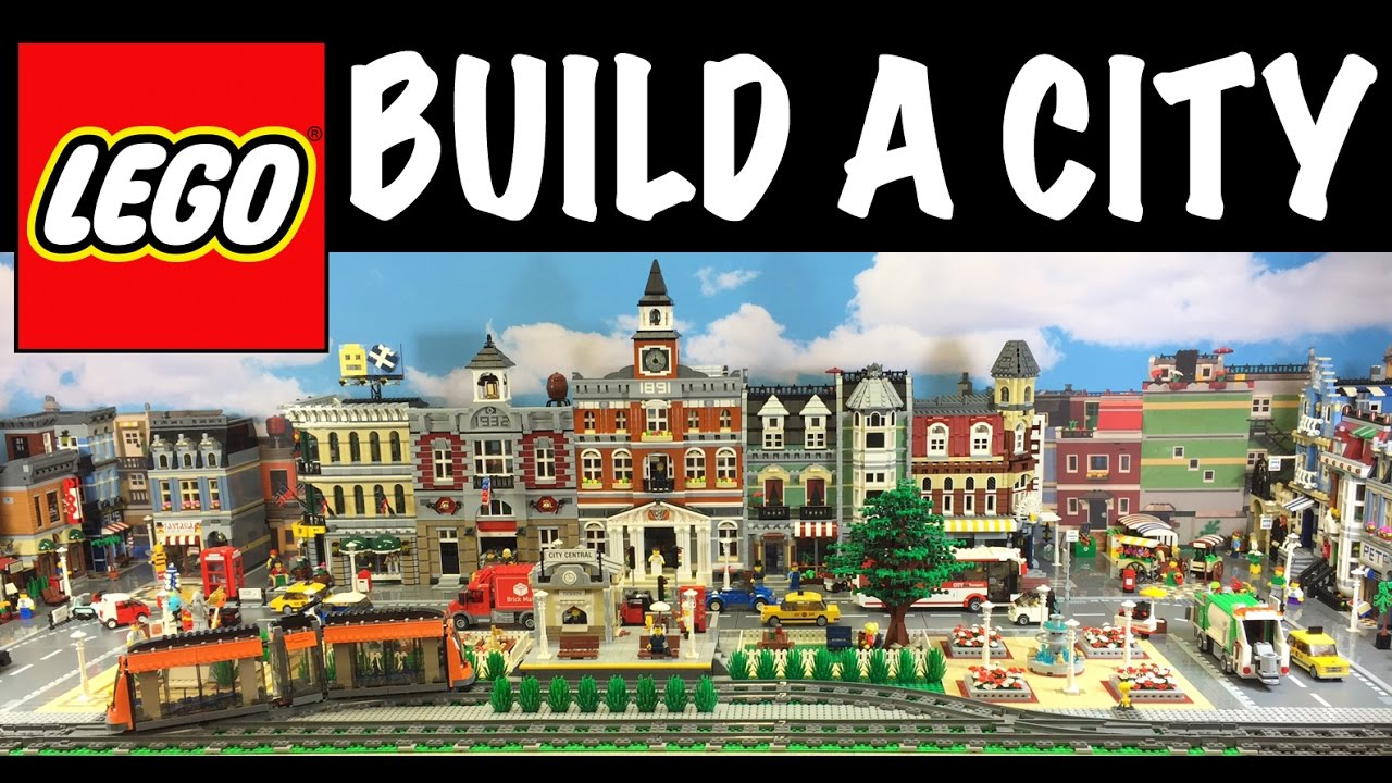 How to build a Lego City Tutorial - YouTube
