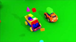 Развивающий мультик  Про Машинки Грузовик Тема и Геометрические фигуры Мультфильм Для Детей