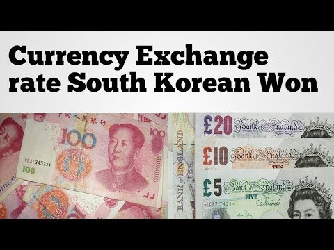 Korean Won Exchange Rate | Inr To South Korea Currency | Usd To Krw | Krw To Usd | Won To Usd