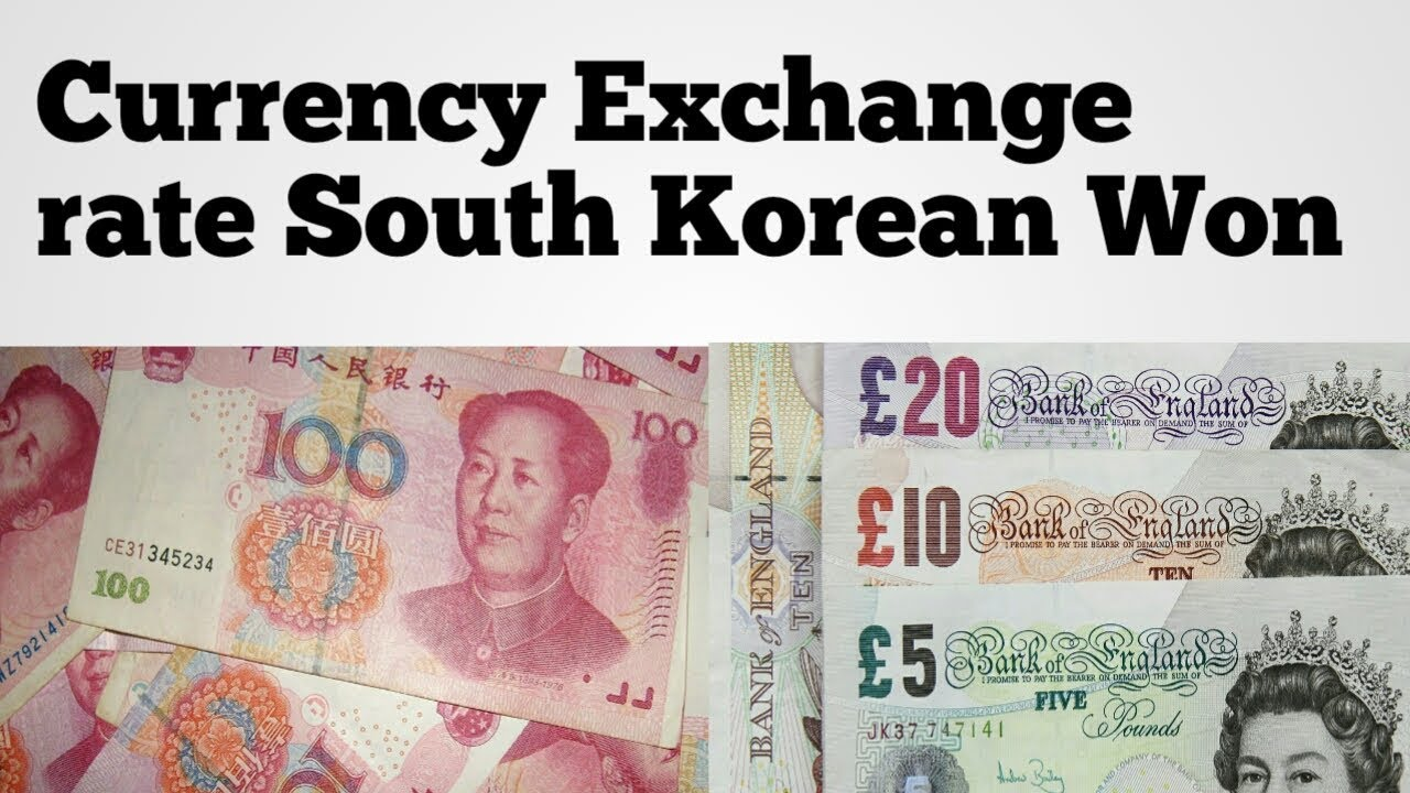 Inr To South Korea Currency Usd