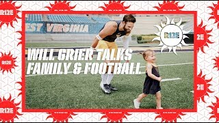 WVU QB Will Grier on Family and Football