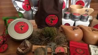 Dragon Fire Tinderbox Full Fire Kit, Tinder, & Kuksas