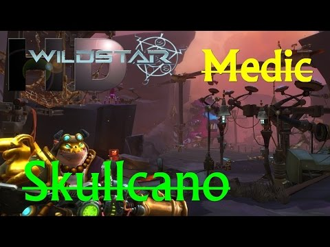 WildStar F2P PVE – Dungeon Skullcano Level 35 – Medic Gameplay Walkthrough