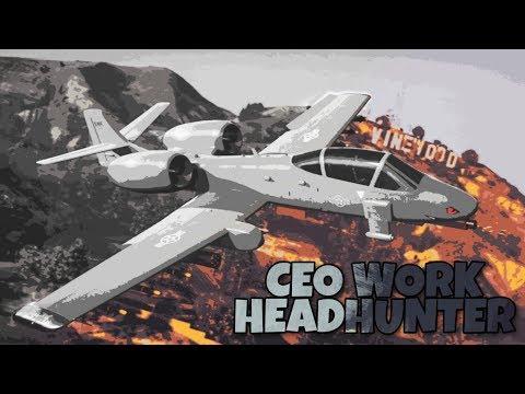 CEO Work Headhunter | B-11 Strikforce | GTA online | PS4