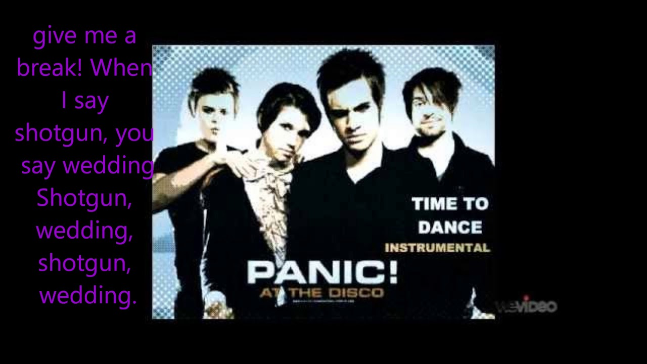 Time To Dance Panic At The Disco Lyric Video