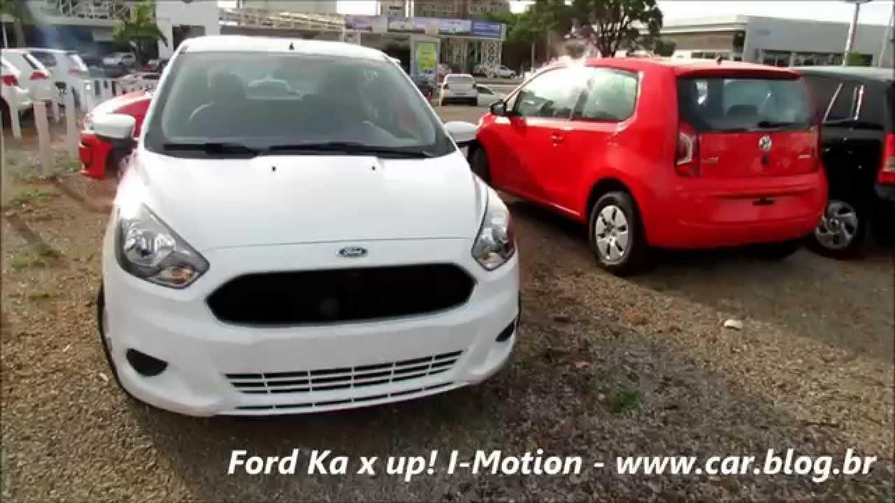 Novo Ford Ka X Volkswagen Up I Motion Comparativo Www Car Blog Br Youtube
