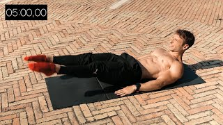 5 MIN ABS Worĸout with Bodyweight Exercises