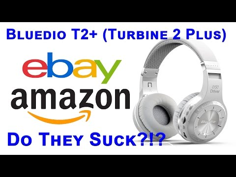 Do They Suck? Bluedio Turbine T2+  Unboxing & Review From eBay/Amazon Headphones