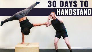 Learn to Handstand in 30 Days? || Max's Monthly Challenge