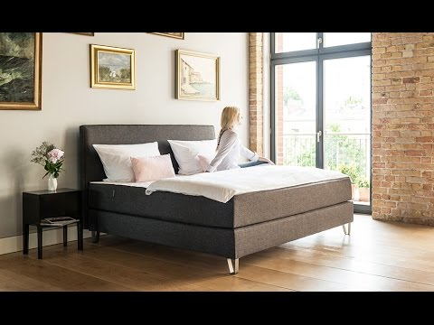 das boxspringbett von bruno 2016 youtube. Black Bedroom Furniture Sets. Home Design Ideas
