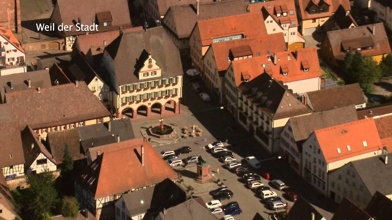 Luftportrait Weil Der Stadt