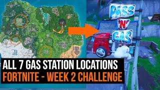 All 7 gas station locations - Fortnite Season 10 week 2 challenge guide