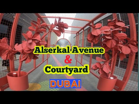 Alserkal Avenue And Courtyard Dubai   SIJU REVA VLOG   Malayalam Vlog