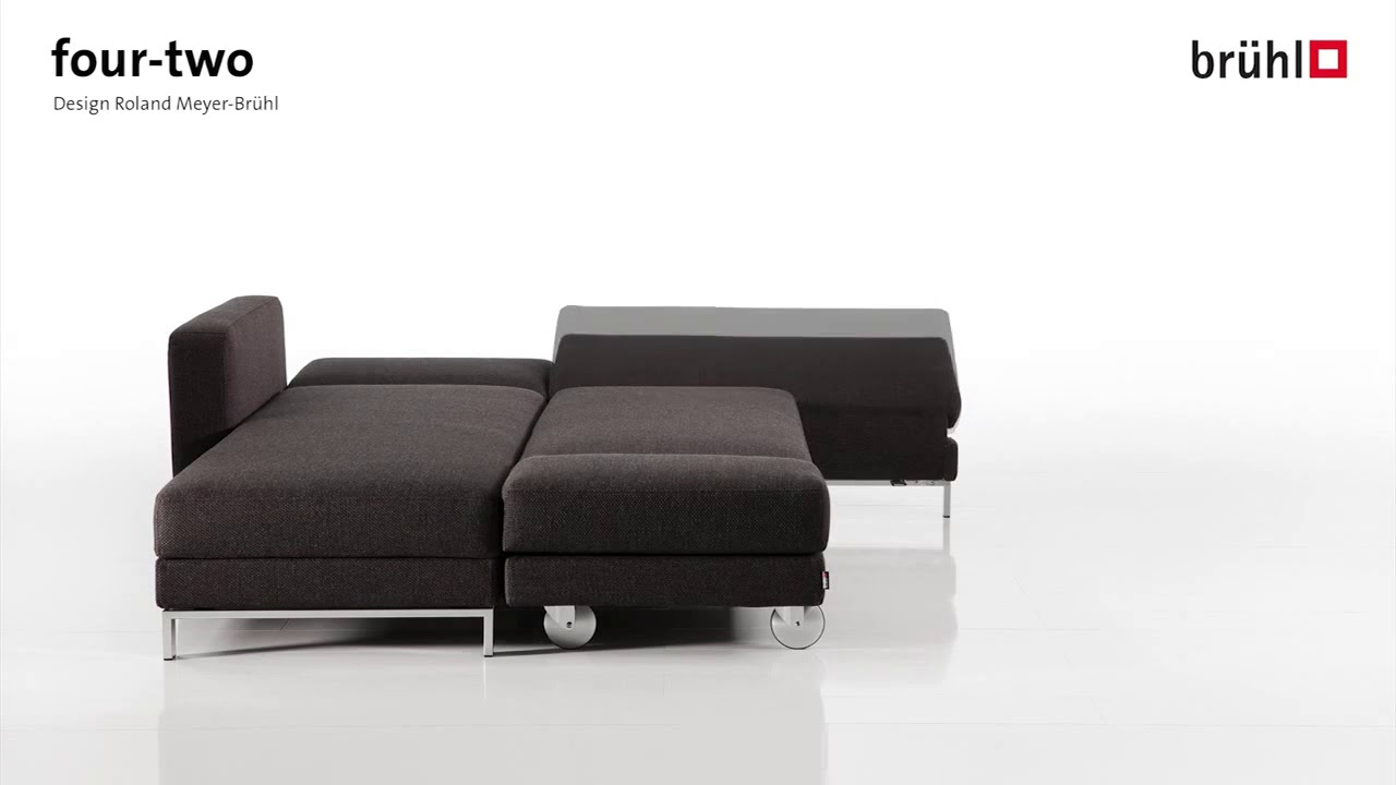 das schlafsofa four two von br hl youtube. Black Bedroom Furniture Sets. Home Design Ideas
