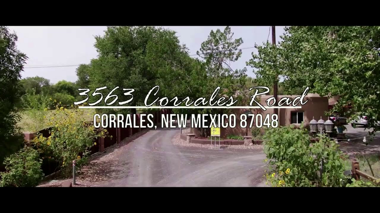 Just Listed in the Corrales Greenbelt